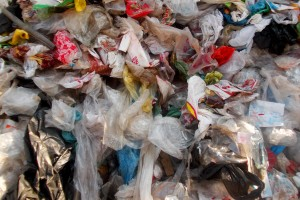 Plastic Bags in the Great Pacific Garbage Patch